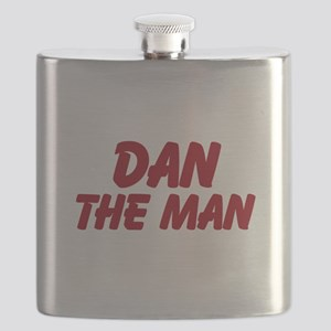 Dan The Man Flask